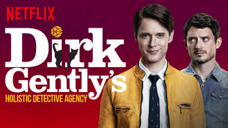 Netflix box art for Dirk Gently's Holistic Detective Agency - Season 1