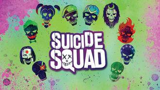 Netflix box art for Suicide Squad