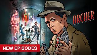 Netflix box art for Archer - Season 8