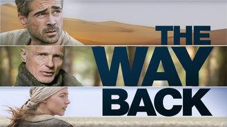 Netflix box art for The Way Back