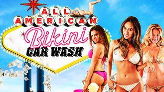 Netflix box art for All American Bikini Car Wash