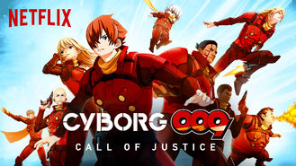 Netflix box art for Cyborg 009: Call of Justice - Season 1
