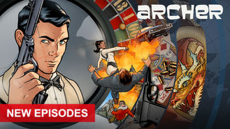 Netflix box art for Archer - Season 7