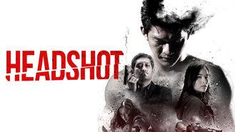 Netflix box art for Headshot