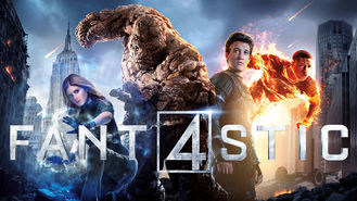 Netflix box art for Fantastic Four