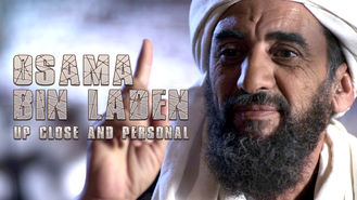 Netflix box art for Osama Bin Laden: Up Close and Personal