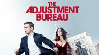 Netflix box art for The Adjustment Bureau