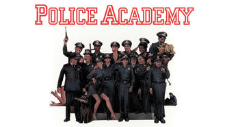 Netflix box art for Police Academy
