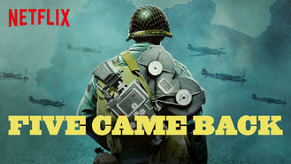 Netflix box art for Five Came Back - Season 1