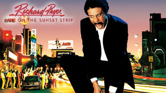 Is Richard Pryor: Live on the Sunset Strip on Netflix?