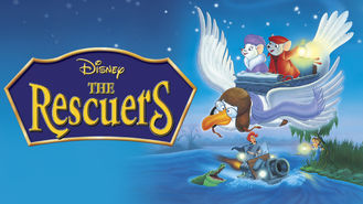 Netflix box art for The Rescuers