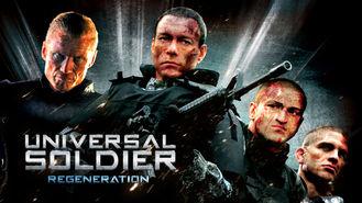 Netflix box art for Universal Soldier: Regeneration