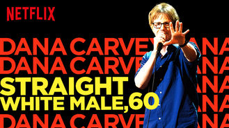 Netflix box art for Dana Carvey: Straight White Male, 60