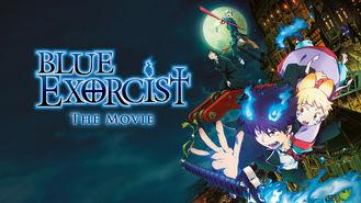 Netflix box art for Blue Exorcist: The Movie