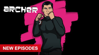 Netflix box art for Archer - Season 8