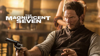 Netflix box art for The Magnificent Seven