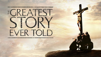 Netflix box art for The Greatest Story Ever Told