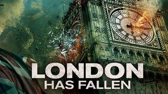 Netflix box art for London Has Fallen
