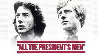 Netflix box art for All the President's Men