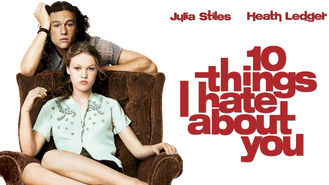 Netflix box art for 10 Things I Hate About You