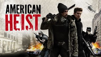 Netflix box art for American Heist