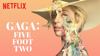 Netflix box art for Gaga: Five Foot Two
