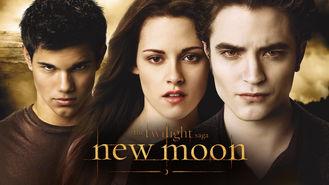 Netflix box art for The Twilight Saga: New Moon