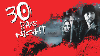 Netflix box art for 30 Days of Night