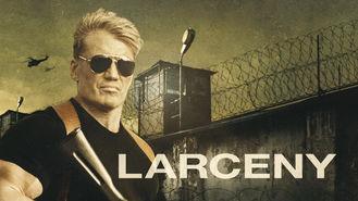 Netflix Box Art for Larceny