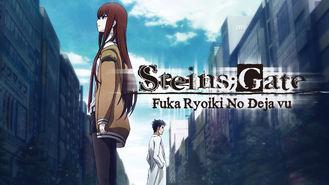 Netflix box art for Steins Gate: Fuka Ryoiki No Deja vu