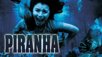 Netflix box art for Piranha
