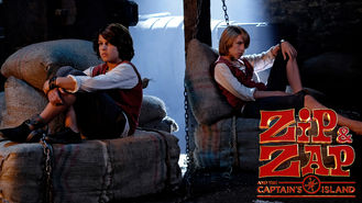 Netflix box art for Zipi & Zape y la Isla del Capitan