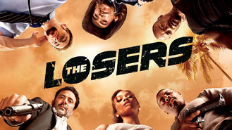 Netflix box art for The Losers