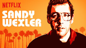 Netflix box art for Sandy Wexler
