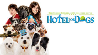 Netflix box art for Hotel for Dogs