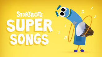 Netflix box art for StoryBots Super Songs - Season 1
