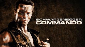 Netflix box art for Commando