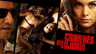 Netflix box art for Crimenes de Lujuria