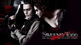 Netflix box art for Sweeney Todd