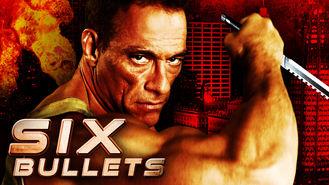 Netflix box art for 6 Bullets