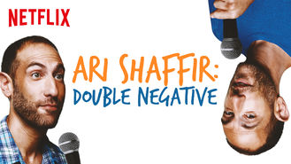 Netflix box art for Ari Shaffir: Double Negative - Season 1