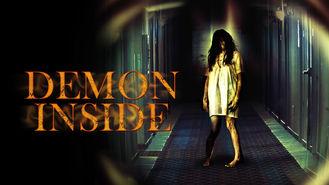 Netflix box art for Demon Inside