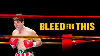 Netflix box art for Bleed for This