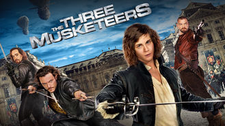 Netflix box art for The Three Musketeers