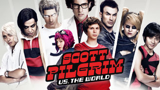 Netflix box art for Scott Pilgrim vs. the World