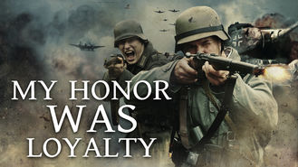 Netflix box art for My Honor Was Loyalty