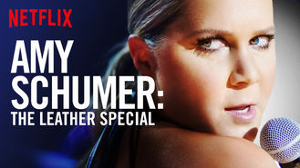 Netflix box art for Amy Schumer: The Leather Special