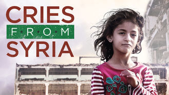 Netflix box art for Cries from Syria