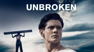 Netflix box art for Unbroken