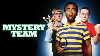 Netflix box art for Mystery Team